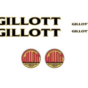 Наклейки Gillott