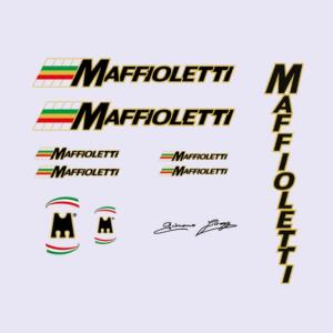 набор велонаклеек маффиолетти maffioletti номер 2