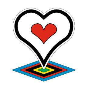 Логотип наклейка De Rosa