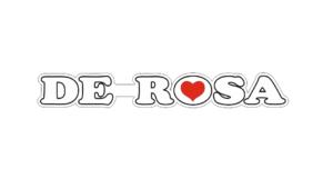 наклейка de rosa на велосипед горизонтальная