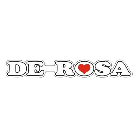 наклейка de rosa на велосипед горизонтальная2
