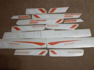 Пример готовых наклеек на стелс навигатор 300