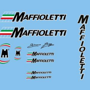набор велонаклеек маффиолетти maffioletti номер 1