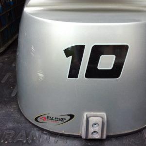 наклейка на мотор лодки 10 литров