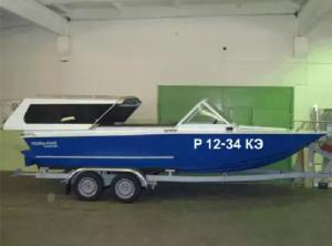 наклейки номер лодки на борта