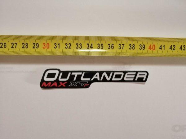 Наклейка Outlander Max XTr на квадроцикл под оригинал