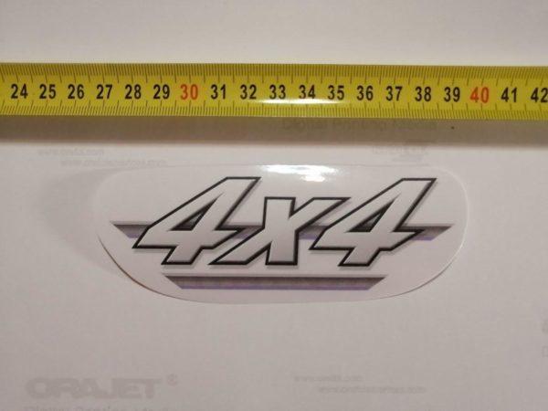 Наклейка 4х4 на квадроцикл Yamaha Grizzly