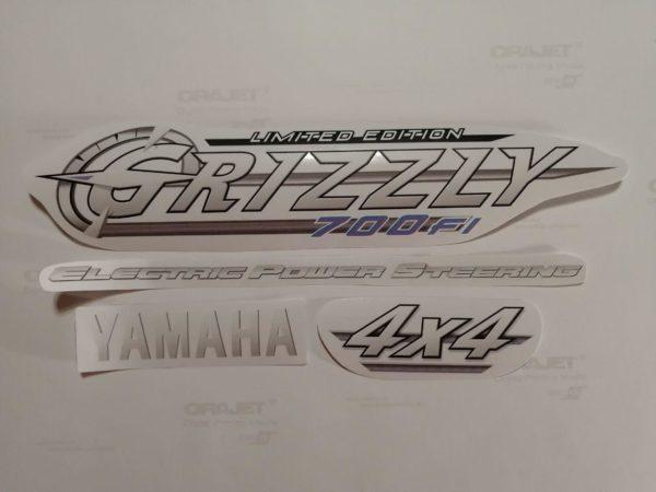 Оригинальные наклейки Yamaha Grizzly